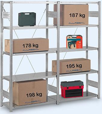 fachbodenregale als schraubsystem und stecksystem. Black Bedroom Furniture Sets. Home Design Ideas
